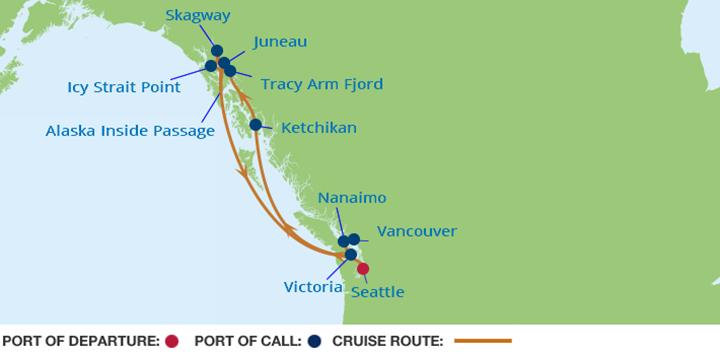 11 Night Ultimate Alaska Cruise Celebrity Cruise Arena
