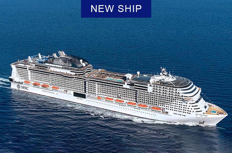 7N Winter Mediterranean - MSC Grandiosa - Cruise Arena